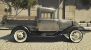 Ford A Pick-up 1930 for GTA 5 miniature 3
