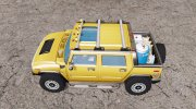 Hummer H2 SUT 2005 for Farming Simulator 2015 miniature 2