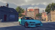 Nissan Silvia S15 v1.0 (with spoiler) for Mafia II miniature 10
