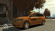 2006 Honda Odyssey (US) Taxi for GTA 4 miniature 4