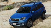 Toyota RAV 4 (XA20) for GTA 5 miniature 1