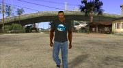 CJ в футболке (Bounce FM) for GTA San Andreas miniature 2