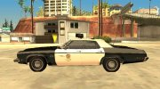 Oldsmobile Delta 88 1973 Los Angeles Police Department for GTA San Andreas miniature 5