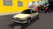 Volkswagen Golf 3 ABT VR6 Turbo Syncro for GTA 3 miniature 1