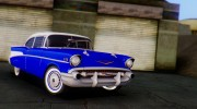 1957 Chevrolet Bel Air Sport Coupe for GTA San Andreas miniature 8