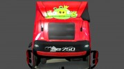 "Скин ""Angry Birds"" для Volvo FH 2012 for Euro Truck Simulator 2 miniature 4"