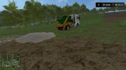 MAN skip truck with container (v1.0 Pummelboer) for Farming Simulator 2017 miniature 13