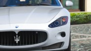 2010 Maserati GranTurismo S for GTA 5 miniature 7