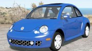 Volkswagen New Beetle Turbo S 2002 for BeamNG.Drive miniature 1