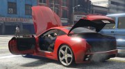 2012 Ferrari California BETA for GTA 5 miniature 10