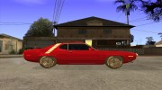 Plymouth Roadrunner для GTA San Andreas миниатюра 5