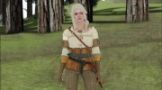 Ciri from Witcher 3 Retextured для GTA San Andreas миниатюра 1