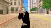 Anonymous skin V.3 for GTA San Andreas miniature 1
