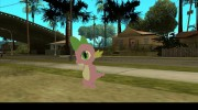 Spike (My Little Pony) для GTA San Andreas миниатюра 3