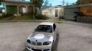 BMW 135i Coupe Stock for GTA San Andreas miniature 1