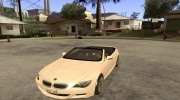 BMW M6 for GTA San Andreas miniature 1