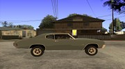 Chevrolet Chevelle SS for GTA San Andreas miniature 5