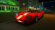 Ford GT40 MkI 1965 for GTA Vice City miniature 7