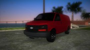 Chevrolet Express Cargo 2005 for GTA Vice City miniature 1