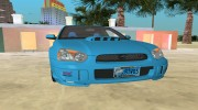 Subaru Impreza 2.0 WRX STI for GTA Vice City miniature 11
