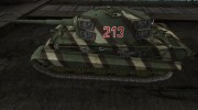 Шкурка для PzKpfw VIB Tiger II для World Of Tanks миниатюра 2
