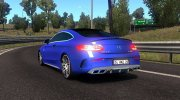 Mercedes-Benz C63 AMG Coupe for Euro Truck Simulator 2 miniature 4