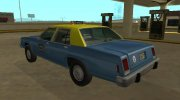 Ford LTD Crown Victoria taxi Downtown Cab Co for GTA San Andreas miniature 4