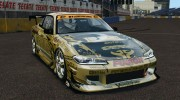 Nissan Silvia S15 D1GP TOP SECRET для GTA 4 миниатюра 1