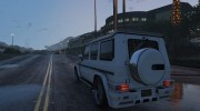 2013 Mercedes-Benz G65 AMG v1.2 for GTA 5 miniature 5