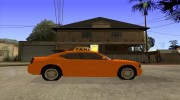 Dodge Charger STR8 Taxi for GTA San Andreas miniature 5