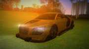 Audi Le Mans Tuning v.2 for GTA Vice City miniature 1