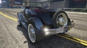 Ford T 1927 Roadster for GTA 5 miniature 5
