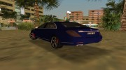 2015 Mercedes Benz S350 Bluetec for GTA Vice City miniature 2