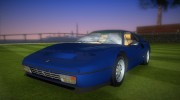 Ferrari 328 GTB for GTA Vice City miniature 1