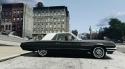 Ford ThunderBird 1964 для GTA 4 миниатюра 5