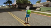 Finn From Cartoon Network Universe Fusionfall Heroes для GTA San Andreas миниатюра 6
