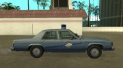 Ford LTD Crown Victoria 1987 Kentucky State Police for GTA San Andreas miniature 6