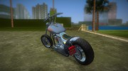 Harley-Davidson Black Death for GTA Vice City miniature 4