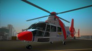 Eurocopter AS-365N Dauphin 2 for GTA Vice City miniature 1