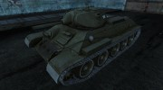 T-34 17 для World Of Tanks миниатюра 1