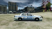 Ford Crown Victoria Police for GTA 4 miniature 5