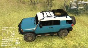 Toyota FJ Cruiser 2011 Custom v1.0 for Spintires DEMO 2013 miniature 2