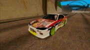 Nissan Silvia S15 - K-on Itasha for GTA San Andreas miniature 1