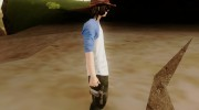 Carl Grimes from The Walking Dead для GTA San Andreas миниатюра 3