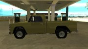 Dodge D-100 1966 for GTA San Andreas miniature 5