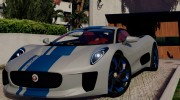 Jaguar C-X75  BETA for GTA 5 miniature 2