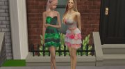 Love Me Dress for Sims 4 miniature 3