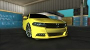 Dodge Charger RT 2015 for GTA Vice City miniature 2