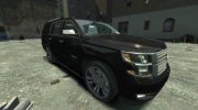 Chevrolet Tahoe 2015 V1.0 for GTA 4 miniature 3