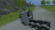 Mercedes-Benz Actros 4160 для Farming Simulator 2013 миниатюра 3